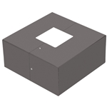 4 inch Square Base Cover //  WSD-IBS4-D