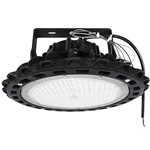 "200W LED UFO High Bay Light with  Trunnion   <font color=""red"">AC120-277V  </font>//  WSD-UHB20W27-50K-T"