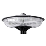 "60W LED Round Post Top Light  <font color=""red"">AC120-277V   </font>  //  WSD-RPT06W27-50K-B-<font color=""red"">I2  </font>"