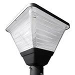 "60W LED Square Post Top Light   <font color=""red"">AC120-277V   </font>  //   WSD-SPT06W27-50K-B"