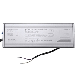 200W LED Power Supply   (Dimmable)  //  SS-200VA-56B