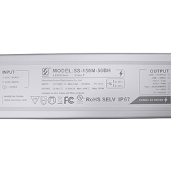 150W SOSEN LED Power Supply AC277-480V (Dimmable) // SS-150M-56BH