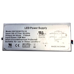 70W LED Power Supply //    IS070038175 --- 1G